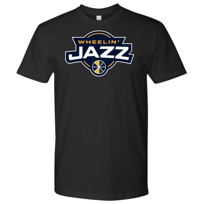 Premium Men's Wheelin' Jazz T-Shirt
