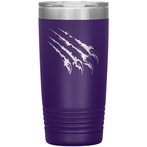 Copper Hills Grizzlies Claw 20 Ounce Custom Tumbler
