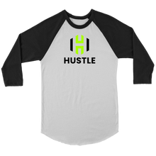 Load image into Gallery viewer, Adult Utah Hustle 3/4 Raglan