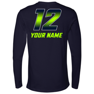 Adult Copper Hills Personalized Long Sleeve Shirt