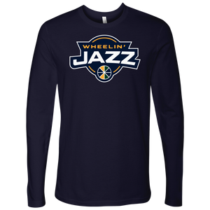 Adult Wheelin' Jazz Long Sleeve Shirt