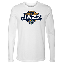 Load image into Gallery viewer, Adult Wheelin' Jazz Long Sleeve Shirt