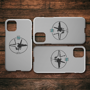 Official South Weber Jets Grey iPhone Case