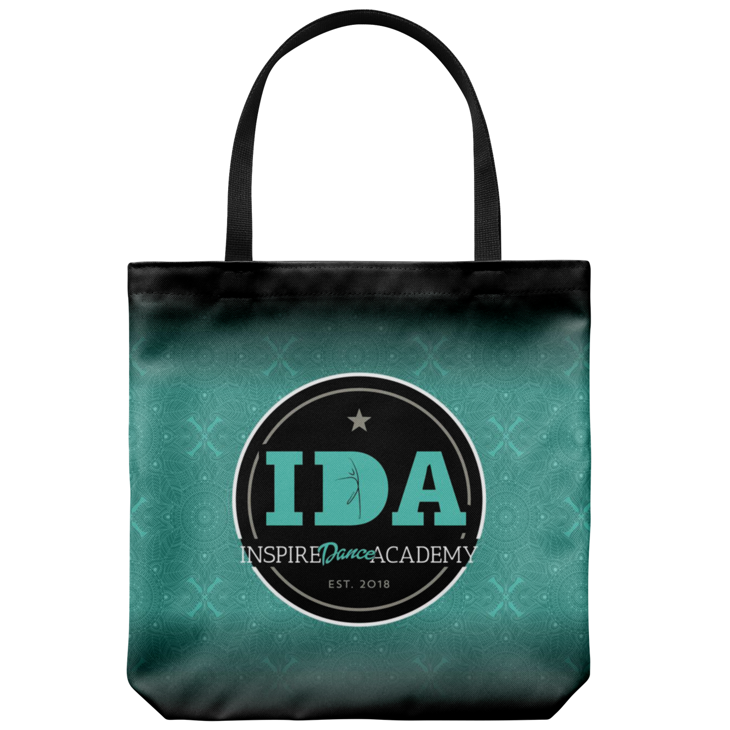 Teal Inspire Dance Academy Premium Tote Bag