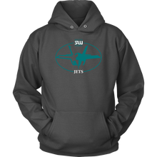 Load image into Gallery viewer, Adult South Weber Jets Hoodie