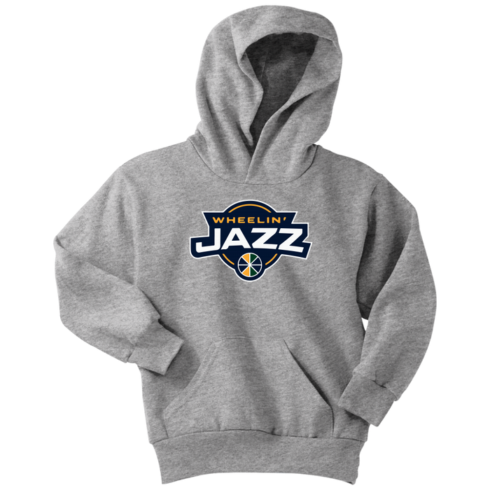 Youth Wheelin' Jazz Hoodie