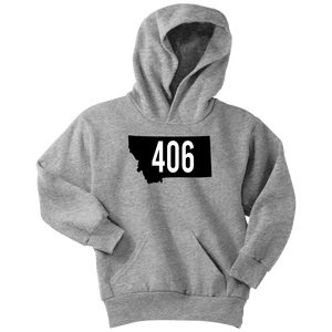 Youth Montana Rebels 406 Hoodie