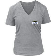 Load image into Gallery viewer, Women's Elite V-Neck Fanwear Shirt