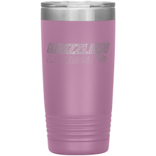 Load image into Gallery viewer, Copper Hills Grizzlies Lacrosse 20 Ounce Custom Tumbler