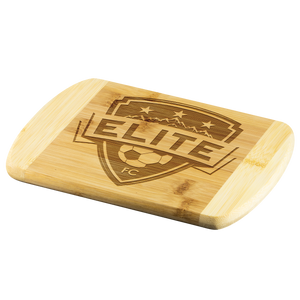 Official Elite Round Edge Wood Cutting Board