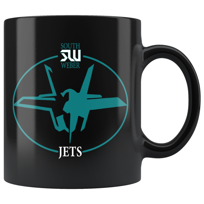 Official South Weber Jets Mug (Black)