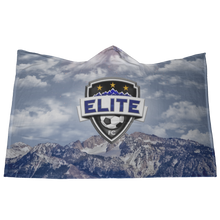Load image into Gallery viewer, Elite Rocky Mountain Premium Hooded Sherpa Blanket with Personalized Mittens