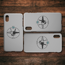 Load image into Gallery viewer, Official South Weber Jets Grey iPhone Case