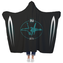 Load image into Gallery viewer, South Weber Premium Hooded Sherpa Blanket with Personalized Mittens