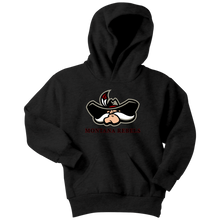 Load image into Gallery viewer, Youth Montana Rebels Cowboy Hoodie