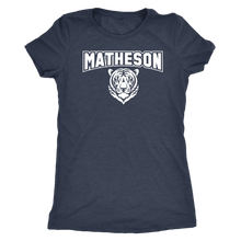 Load image into Gallery viewer, Women's Matheson Junior High School Tigers Triblend T-Shirt