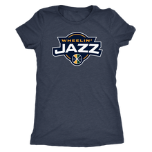 Load image into Gallery viewer, Women's Wheelin' Jazz Personalized T-Shirt
