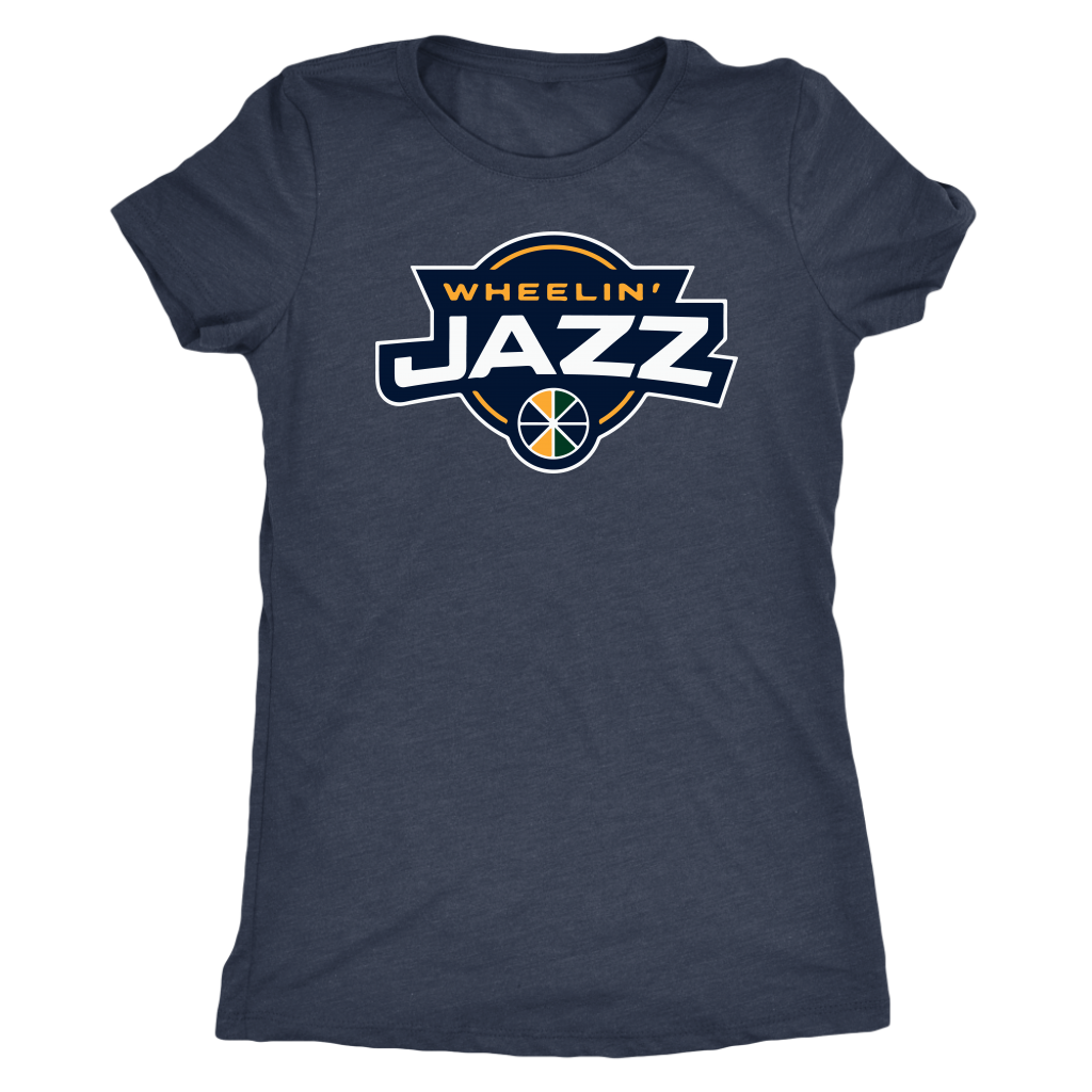 Women's Wheelin' Jazz Personalized T-Shirt
