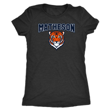 Load image into Gallery viewer, Women's Matheson Junior High School Triblend T-Shirt