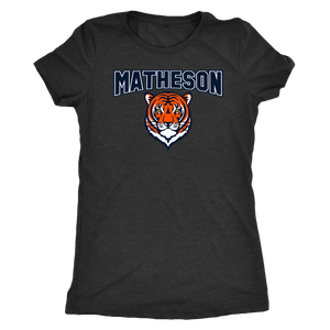 Women's Matheson Junior High School Triblend T-Shirt