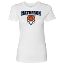 Load image into Gallery viewer, Premium Women's Matheson Junior High School Matheson T-Shirt
