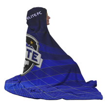 Load image into Gallery viewer, ELITE Premium Hooded Sherpa Blanket with Personalized Mittens