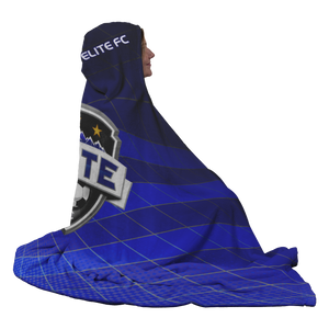 ELITE Premium Hooded Sherpa Blanket with Personalized Mittens