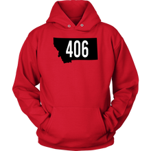 Load image into Gallery viewer, Adult Montana Rebels 406 Hoodie