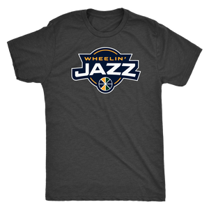 Men's Wheelin' Jazz Personalized T-Shirt