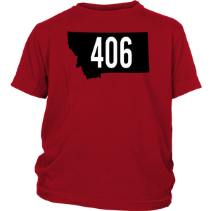 Youth Montana Rebels 406 T-Shirt