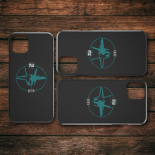 Load image into Gallery viewer, Official South Weber Jets Black iPhone Case