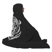 Load image into Gallery viewer, Matheson Tigers Premium Hooded Sherpa Blanket with Personalized Mittens
