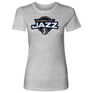 Premium Women's Wheelin' Jazz Personalized T-Shirt