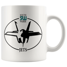 Load image into Gallery viewer, Official South Weber Jets Mug (White)