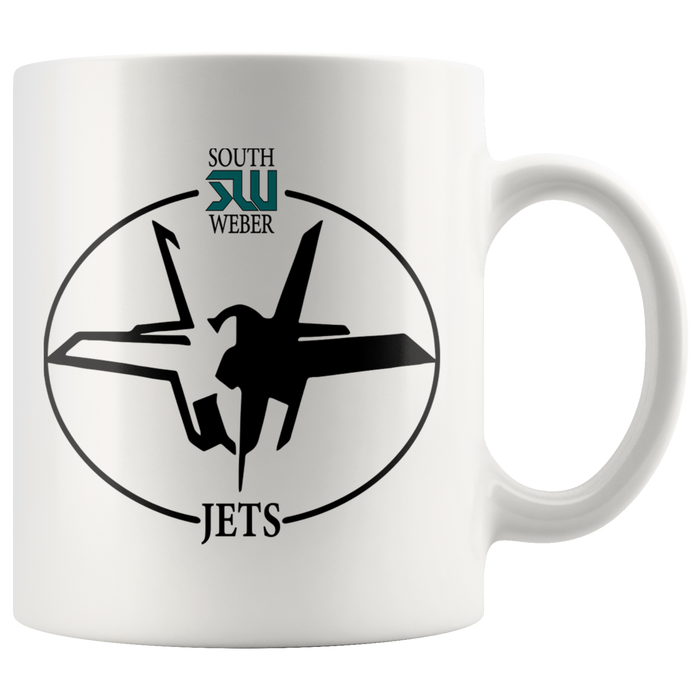 Official South Weber Jets Mug (White)