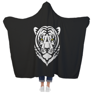 Matheson Tigers Premium Hooded Sherpa Blanket with Personalized Mittens