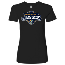 Load image into Gallery viewer, Premium Women's Wheelin' Jazz T-Shirt