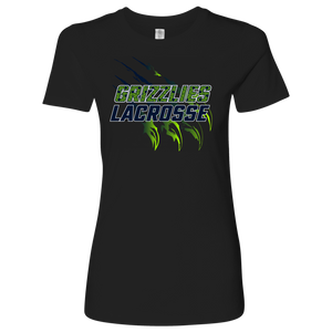 Premium Women's Copper Hills Grizzlies Lacrosse Personalized T-Shirt