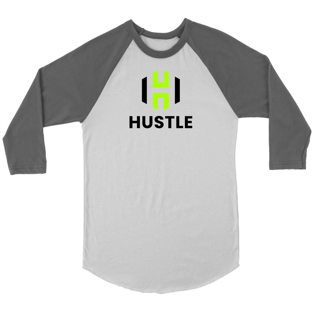 Adult Utah Hustle 3/4 Raglan