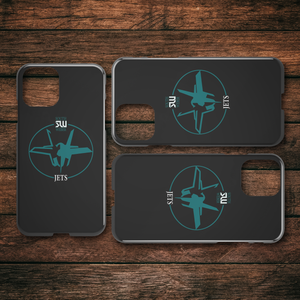 Official South Weber Jets Black iPhone Case