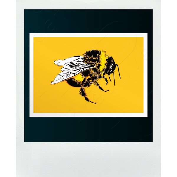 Bee Yellow Post Card | A6 - THUD creative