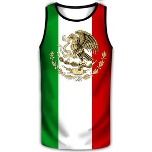 Men Muscle Shirt With Custom Flag Designs (FREE HAT)