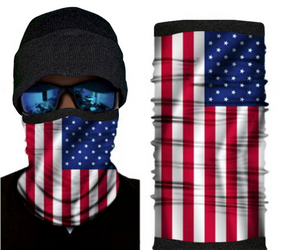 American Flag With Fleece (Winter Style)