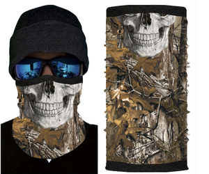 Camo Skull With Fleece (Winter Design)