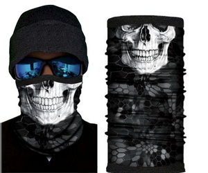 Skull Design With Fleece (Winter Style)