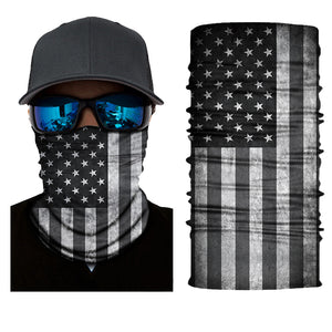 America Flag Blacked Out