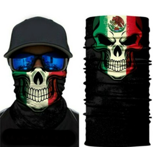 Mexico Skull Style #2 (Silk With Sewn Edges)