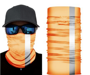 Safety Reflective Stripe Orange (Sewn Edges)