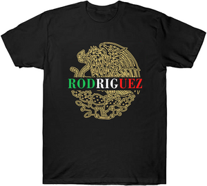 Mexico Eagle Custom Colored Name Shirt/Hoodie