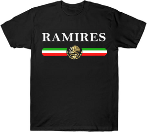 Flag Line Colors With Eagle Custom Name Shirts/Hoodies
